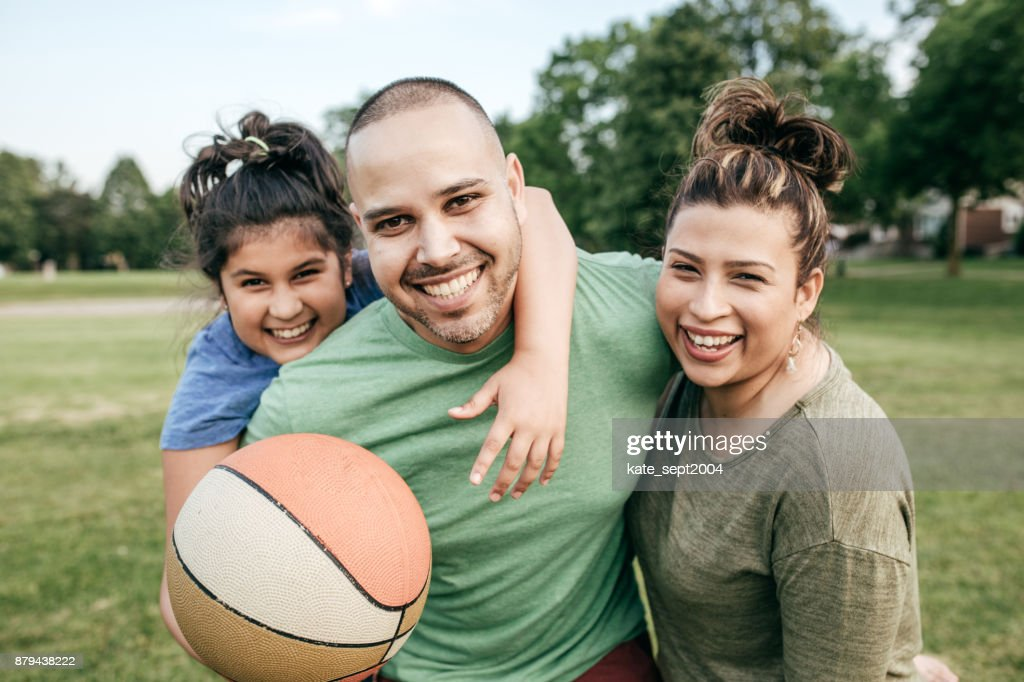 Picnic with family : Stock Photo