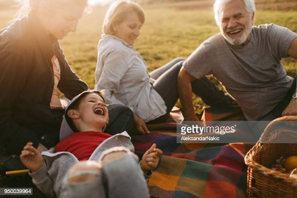 picnic with family - picnic stock pictures, royalty-free photos & images
