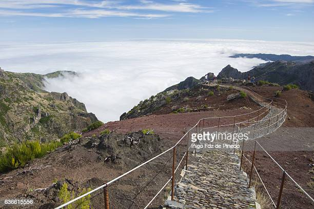 Pico Arieiro- Sea of clouds- Madeira island- Portugal
