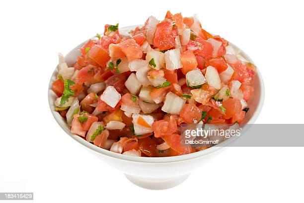 salsa (pico de gallo fresca - salsa fotografías e imágenes de stock