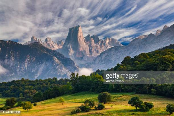 picos de europa, national park. asturias, spain - spain stock pictures, royalty-free photos & images