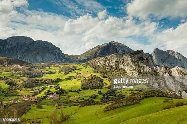 Picos de Europa National Park near Potes, Potes, Spain.