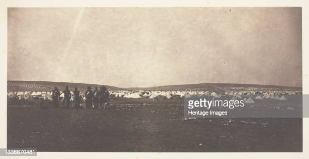 Picquet House, Cathcart's Hill, from General Bosquet's Quarters, 1855. A work made of salted paper print, from the album 'photographic pictures of...