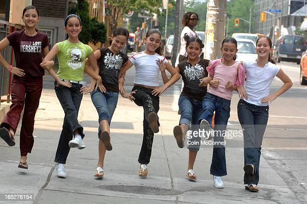 pics of 7 little girls from danza cuba in town to do the dance show vida its their first time in canada and they talk of their experience in cuba and...