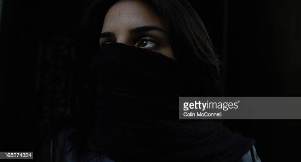 02/27/06 pics of iranian woman facing deportation and appealing to stay her removal after she fled to canada after iranian sharia law refused her a...