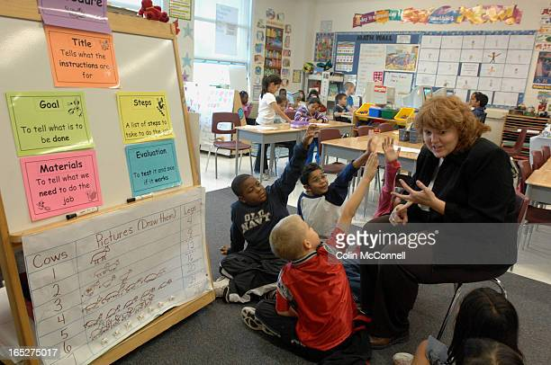 10/05/06 pics of sherwood mills public school in mississauga that has been used as a model for teaching practices at peel public board and is now...