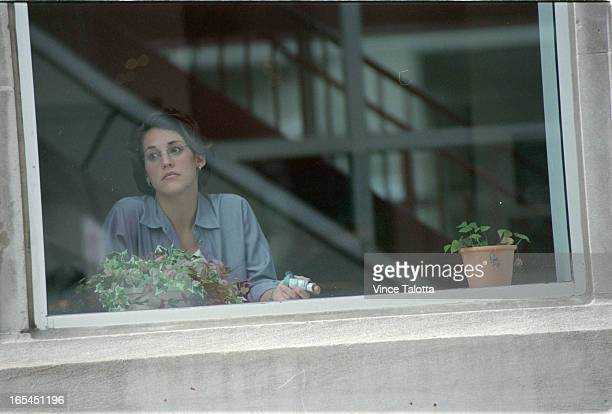 Pics of Tanya Payne in Skywalkstanding and sitting just over York St looking outwards into the cityshe actually uses that skywalk to get to car and...