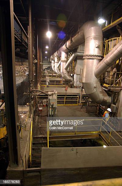 10/17/03 pics ofkms peel inc an incinirator plant in brampton where the region of peel sends a great deal of itrs residential garbage pics of the...