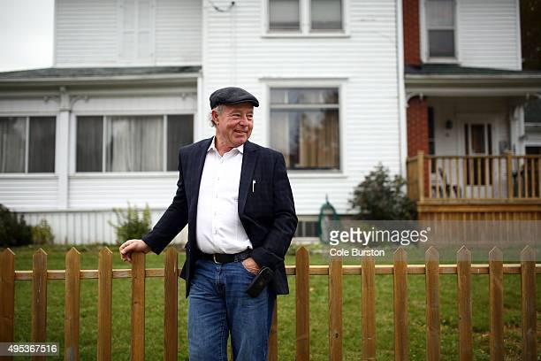 Picton real estate agent James Hartford poses in the town of Picton on October 20, 2015. Hartford helped in securing a home for the Syrian refugee...