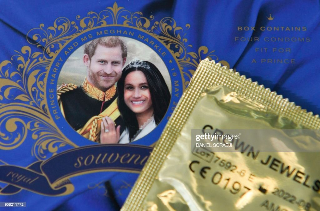 BRITAIN-US-ROYALS-WEDDING-OFFBEAT : News Photo