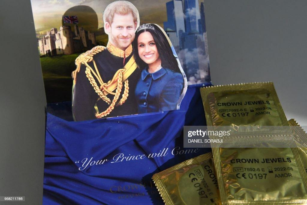 BRITAIN-US-ROYALS-WEDDING-OFFBEAT : News Photo