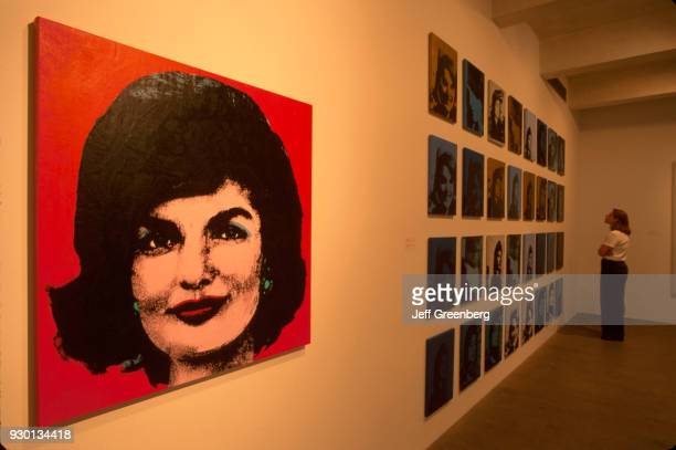 A picture called Jackie in the Andy Warhol Museum Pittsburgh Pennsylvania