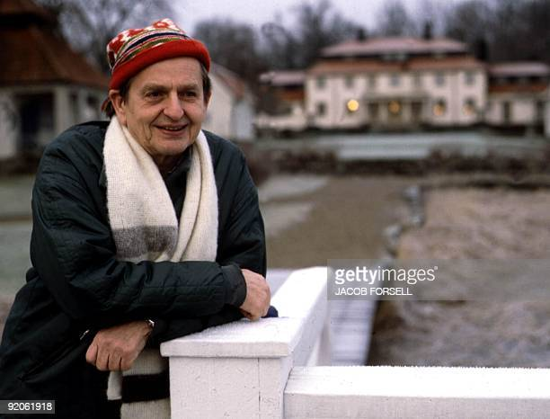 Picture dated 01 December 1982 in Stockholm of Swedish Prime Minister Olof Palme Olof Palme was killed 28 February 1986 by a lone gunner in central...