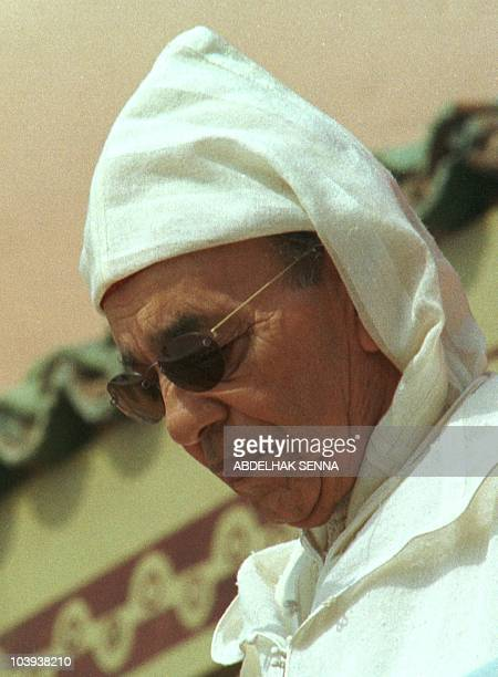 Picture dated 03 March 1999 of King Hassan II of Morocco who was hospitalized with a respiratory complaint 23 July 1999