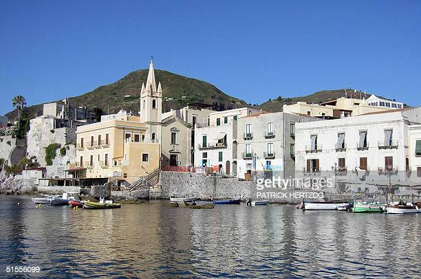Picture dated 17 July 2004 showing the Aeolian island of Lipari. Lawmakers on the Italian island of Sicily have voted to allow a major tourism...