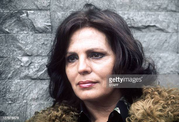 Picture dated 18 April 1973 of Portuguese singer Amalia Rodrigues in Paris Amalia Rodrigues died 06 October 1999 in Lisbon at the age of 79 Her...