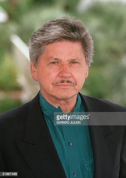 Picture dated 18 May 1991 of US actor Charles Bronson during the 44th Cannes film festival, southern France. Bronson died 30 August 2003 in Los...