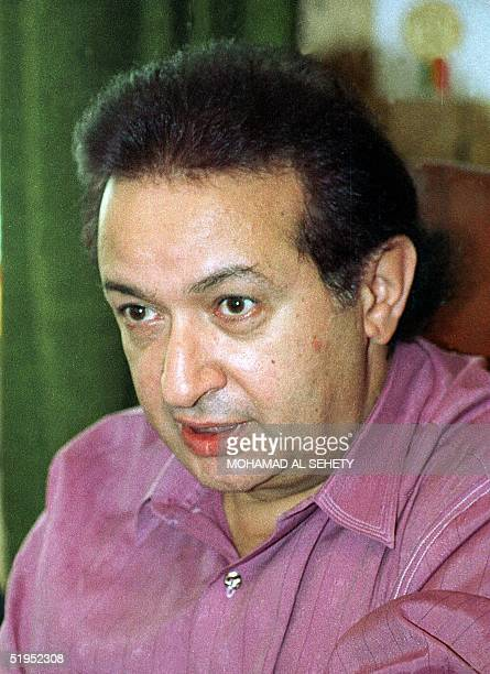 Picture dated 1997 shows Egyptian leading actor Nour alSharif who since his first role in 1967 in a film based on the Trilogy of Egyptian Noble Prize...
