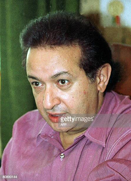 Picture dated 1997 shows Egypt's veteran actor Nour alSharif in Cairo Since his first role in 1967 in a film based on the Trilogy of Egyptian Noble...
