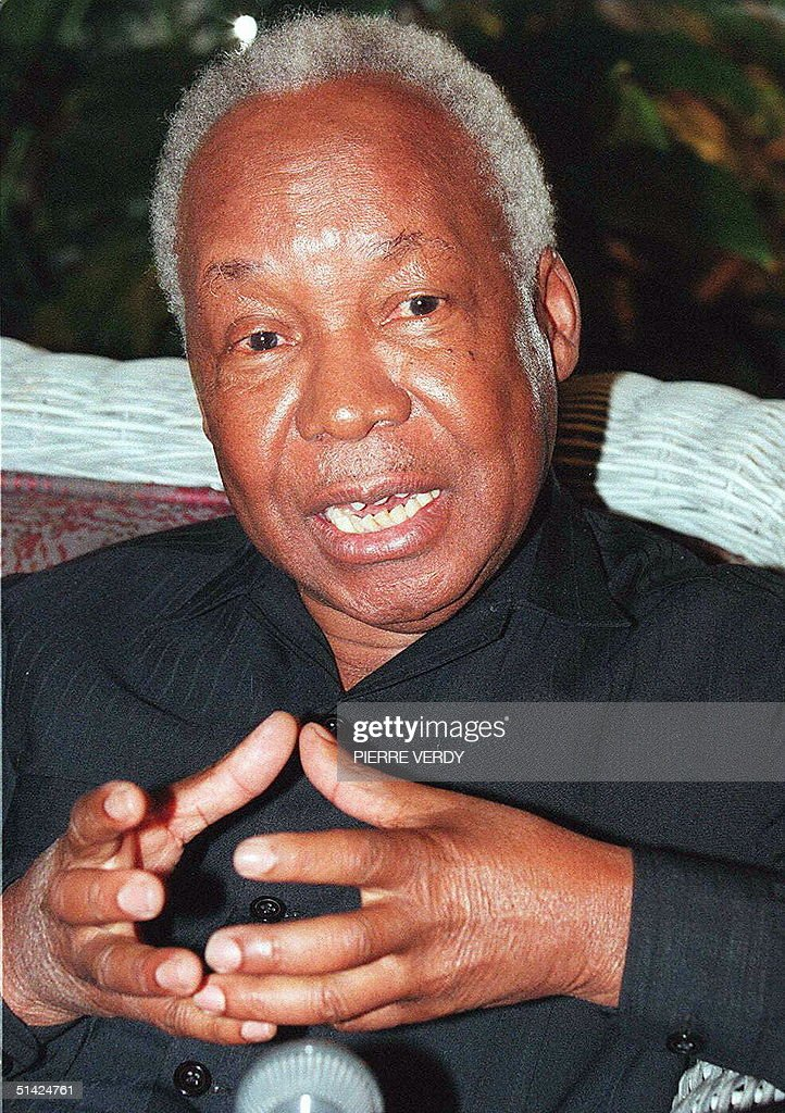 Picture dated 28 June 1996 shows former Tanzanian : News Photo