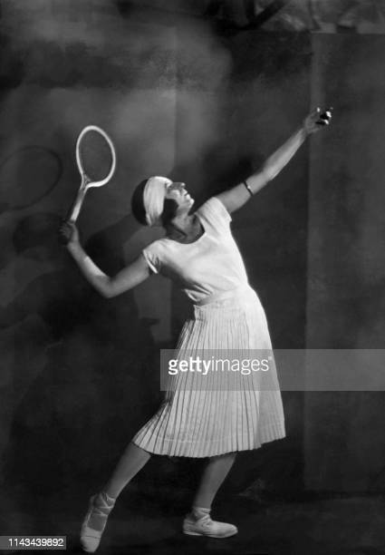 Picture dated from the '20s of French tennis player Suzanne Lenglen. Suzanne Langlen, who died in 1938 at the age of 39, remains the most famous...