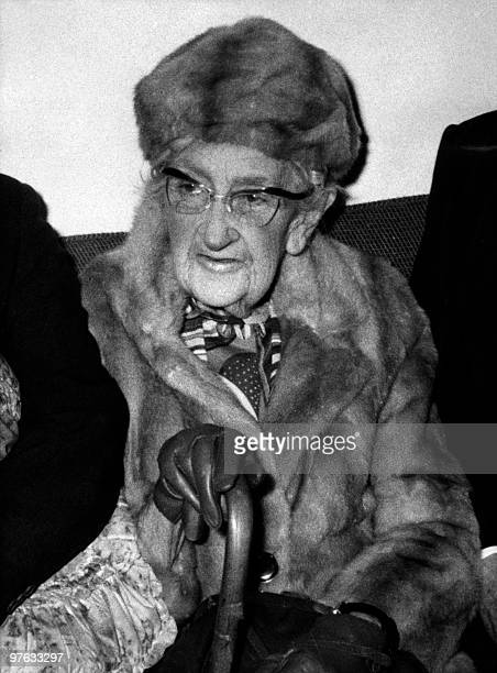 Picture dated in the 1970s of English writer Dame Agatha Christie Agatha Christie born Miller in Torquay Devon wrote under the surname of her fist...