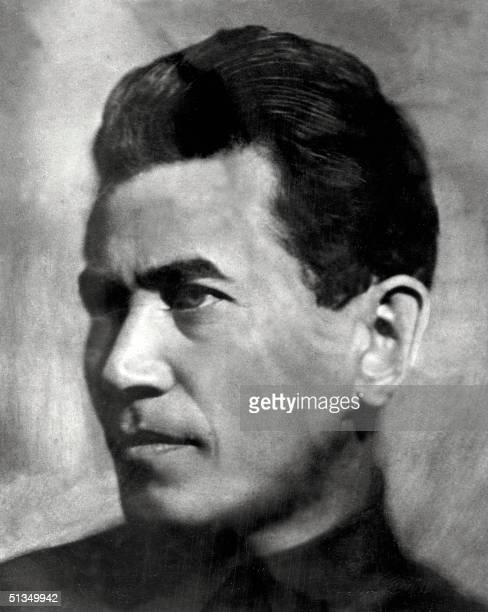 Picture dated January1937 in Moscow of Nikolay Ivanovich Yezhov Bolshevik from April 1917 Yezhov was a political commissar in the Red Army during the...