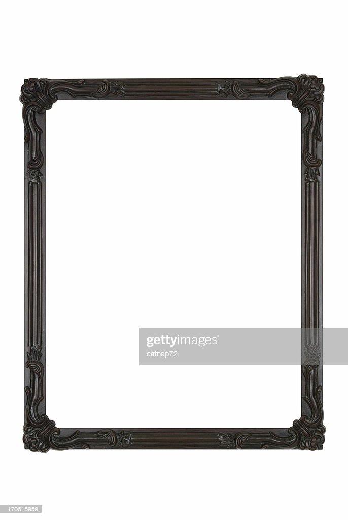 写真のブラックのアールデコ、ホワイトの絶縁デザイン要素 : ストックフォト
