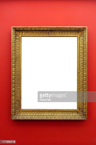 picture frame on wall - xlarge - frame stock pictures, royalty-free photos & images