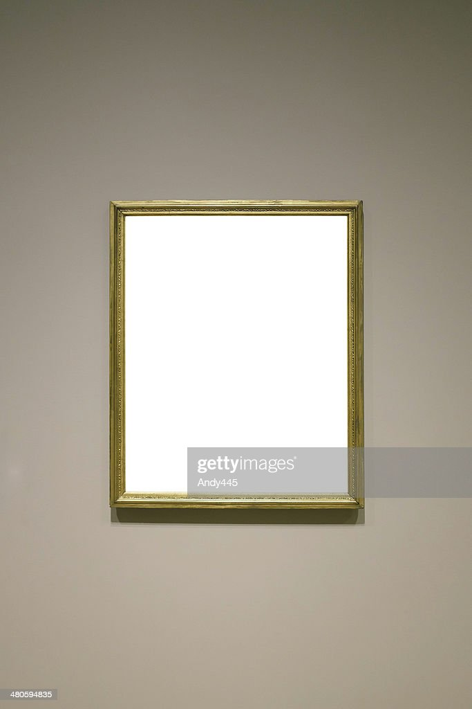 Picture frame (Clipping Path) : Stock Photo