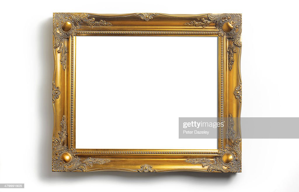 Picture frame with copy space : Stock Photo