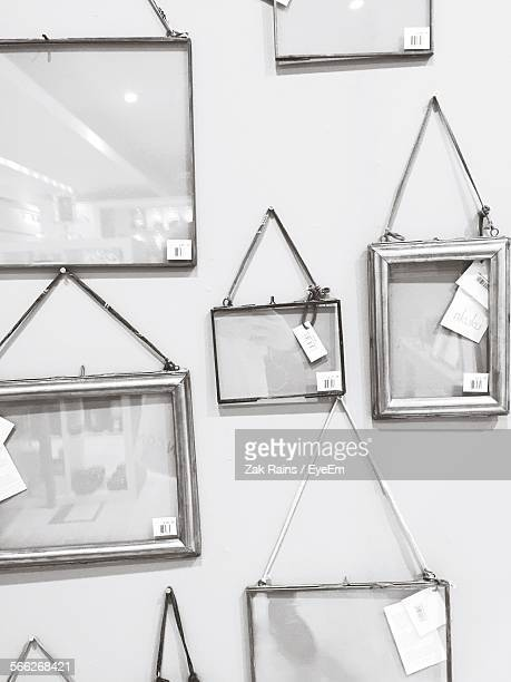 Picture Frames Hanging On Wall