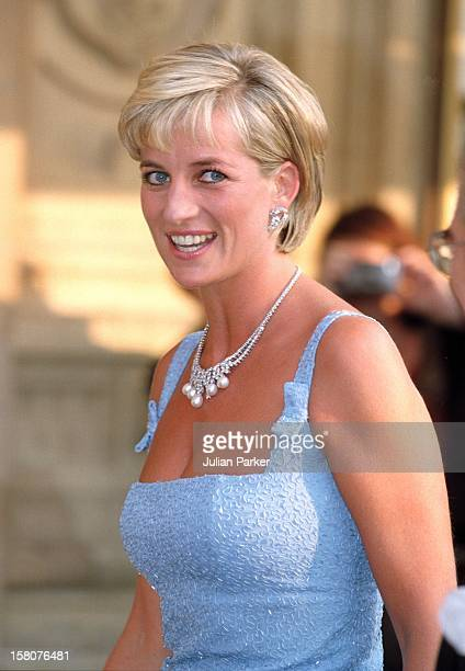Diana The Princess Of Wales Attends A Gala Performance Of 'Swan Lake' At London'S Royal Albert Hall