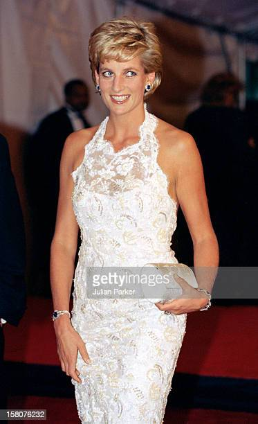 The Princess Of Wales Visits WashingtonGala Charity Dinner