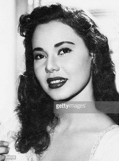 A picture from the 1950s shows the actress Magda alSabbahi who was known simply as Magda One of her most famous roles was as the Algerian Djamila...