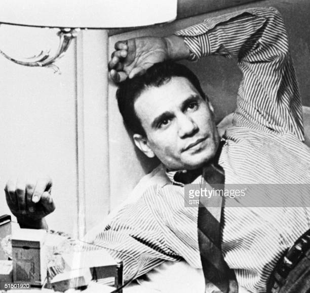 Picture from the late 1960s shows Egypt's most popular male singer ever Abdel Halim Hafez Abdel Halim who was not married died at the age of 48 of...