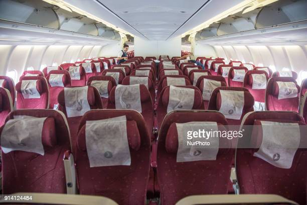 Picture from Turkish Airlines Airbus A330200 The Aircraft is leased from the Indian carrier Jet Airways There is a configuration of 30 Business class...