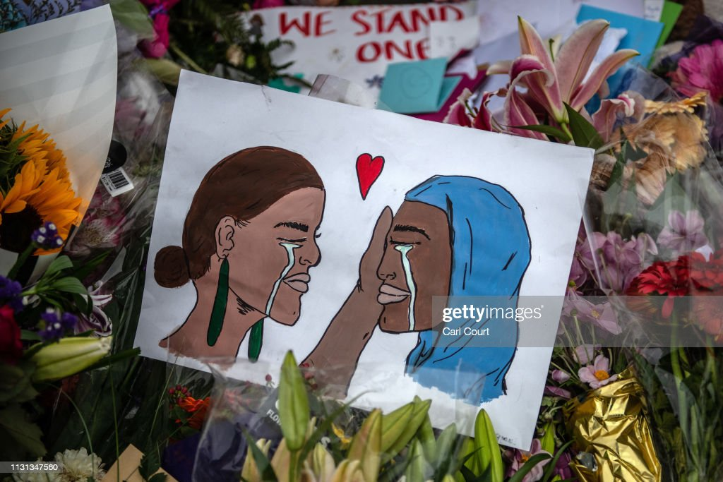 Christchurch Mourns After Worst Mass Shooting In New Zealand's History : Nachrichtenfoto