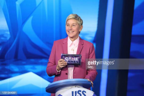 "Picture is Worth 1,000 Danger Words"" Episode 415 -- Pictured: Ellen DeGeneres --"