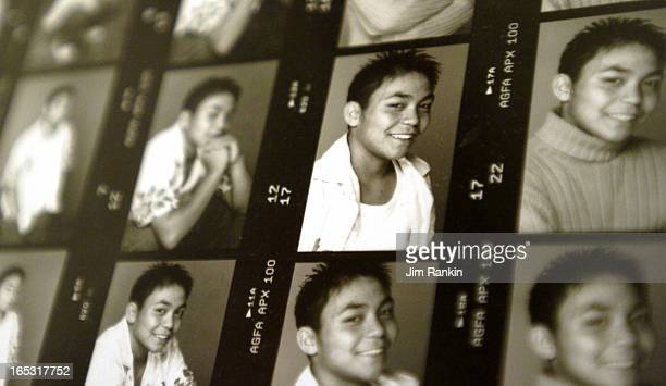 REODICA 03/29/06 TORONTO A picture of a contact sheet of shots Jeffrey Reodica had taken of himself for a potential modeling job A coroner's inquest...