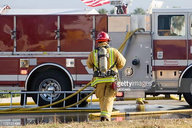 消防士 - 危機管理 ストックフォトと画像