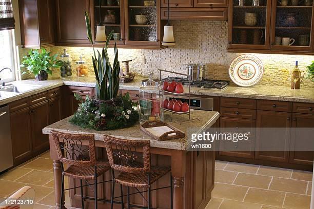 Fotografía de una moderna cocina