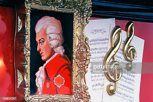 picture of a musician - wolfgang amadeus mozart stock pictures, royalty-free photos & images