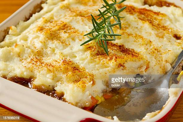 A picture of a scrumptious Shepherds Pie