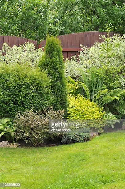 Sur le jardin
