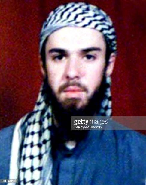 A picture of American Taliban John Walker Lindh from the record of Arabia Hassani Kalan Surani Bannu madrassa in Pakistan's north western city of...