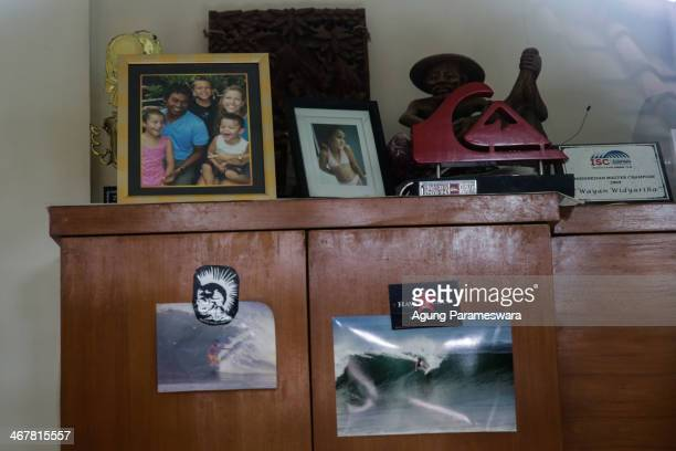 A picture of Australian drug trafficker Schapelle Corby's sister family Mercedes Corby is seen in a house where she live with her husband on February...