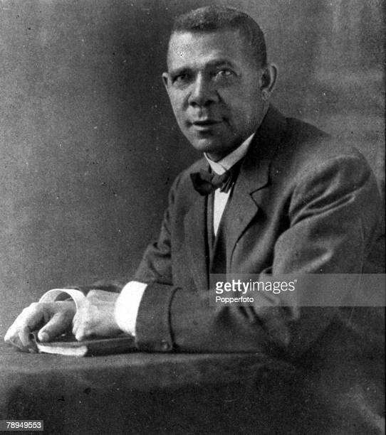A picture of Booker T Washington the AfricanAmerican educationalist