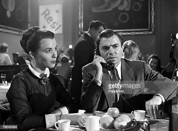 1953 A picture of British actress Claire Bloom and British actor James Mason in a scene from the film The Berlin Story