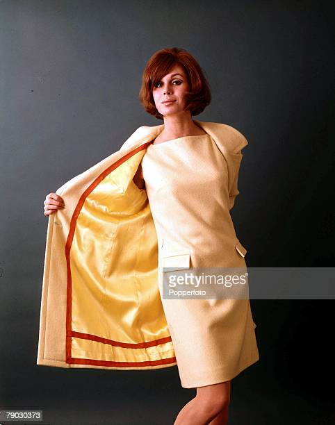 1966 A picture of British actress Joanna Lumley